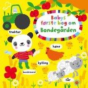 babys første bog om bondegården - bog