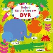 babys første bog om dyr - bog