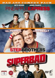 bad ass comedy pack 1 - pineapple express / step brothers / superbad - DVD