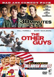 bad ass comedy pack 2 - 30 minutes or less / the other guys / talladega nights - DVD