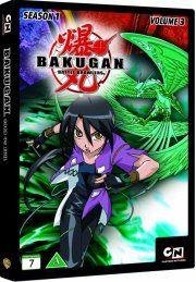 bakugan - battle brawlers: sæson 1 - vol. 3 - DVD