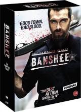 banshee - sæson 1-4 - den komplette serie - DVD