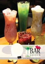 bar guiden - bog