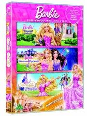 barbie boks - prinsesser - DVD