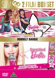 barbie - dagbog / barbie - syng med barbie - DVD