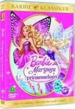 barbie: mariposa and the fairy princess / og prinsessefeen - DVD