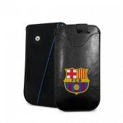 fc barcelona merchandise - smartphone cover / læderetui - stor - Merchandise