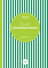bedre håndskrivning, grundskrift 1 - bog