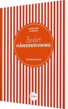 bedre håndskrivning, trykbogstaver - bog