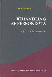 behandling af persondata - bog