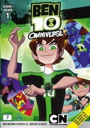 ben 10 omniverse - sæson 1 - del 1 - DVD