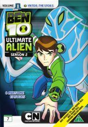 ben 10 - ultimate alien - sæson 2 - vol. 1 - DVD