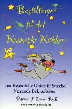 bestillinger til det kosmiske køkken - bog
