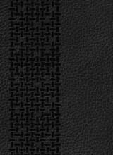 bibelen på hverdagsdansk, ægte læder, sort - bog