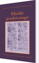 bibelske genskrivninger - bog
