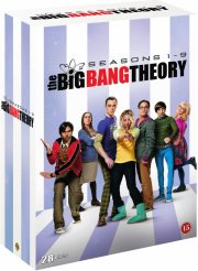 big bang theory - sæson 1-9 - DVD