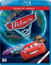 cars 2 / biler 2 - 3d - disney - Blu-Ray