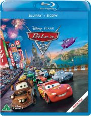biler 2 / cars 2 - disney  - BLU-RAY+E-COPY