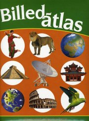 billedatlas - illustreret atlas for børn - bog