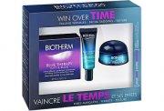 biotherm - blue therapy lift & blur - creme 50 ml + serum 10 ml + nuit 15 ml - gavesæt - Hudpleje