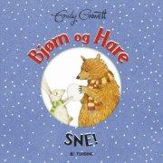bjørn og hare - sne! - bog