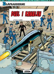 blåfrakkerne: duel i kanalen - bog