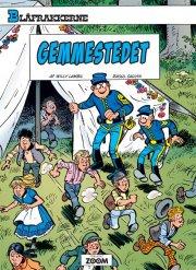 blåfrakkerne: gemmestedet - bog