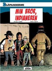 blåfrakkerne: min bror, indianeren - bog