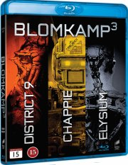blomkamp collection - district 9 / chappie / elysium - Blu-Ray