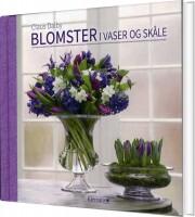 blomster i vaser og skåle - bog