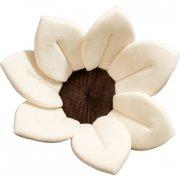 blooming bath badeblomst til baby - hvid - Babyudstyr