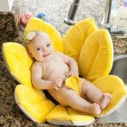 blooming bath badeblomst til baby - gul - Babyudstyr