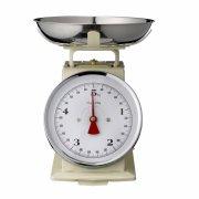 bloomingville køkkenvægt - max 5 kg - cream - Til Boligen