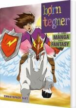 børn tegner manga fantasy - bog