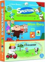 smølferne // alfons åberg // lille prinsesse - DVD