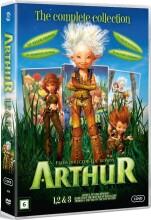 børneboks 4 - arthur 1-3 - DVD