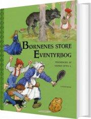 børnenes store eventyrbog - bog