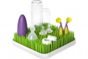 boon grass sutteflaske tørrestativ / holder - kvadratisk - Babyudstyr