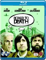 bored to death - sæson 1 - hbo - Blu-Ray