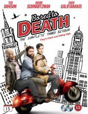 bored to death - sæson 3 - hbo - DVD