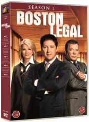 boston legal - sæson 1 - DVD