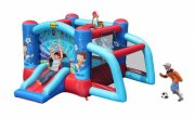 bouncy castle hoppeborg - hoppepude med fodbold mål - Udendørs Leg
