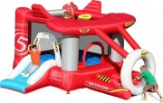 bouncy castles hoppeborg - flyvmaskine hoppepude - Udendørs Leg