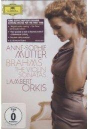 brahms: violin sonatas -- anne-sophie mutter - DVD