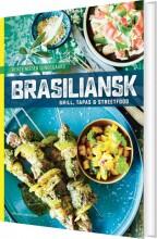 brasiliansk grill, tapas og streetfood - bog