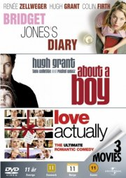love actually // about a boy // bridget jones dagbog - DVD