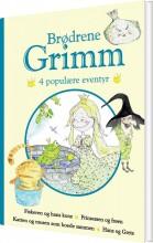 brødrene grimm - 4 populære eventyr ii - bog