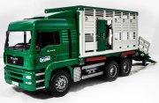 bruder - cattle transportation with cow (2749) - Køretøjer Og Fly