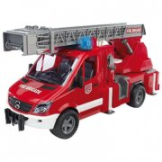 bruder - mercedes benz fireengine w. light & sound (2532) - Køretøjer Og Fly