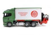 bruder - scania r-serie - lastbil med container  - Køretøjer Og Fly